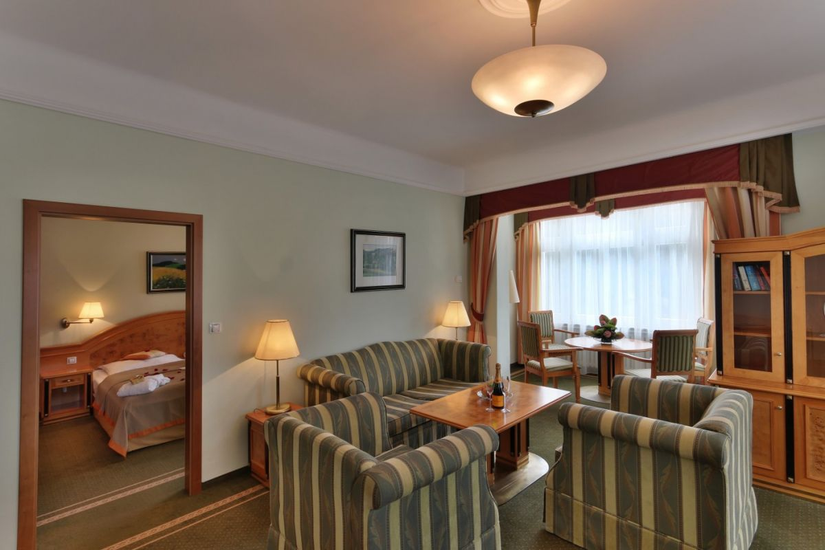 Parkhotel Golf Marienbad - Appartement
